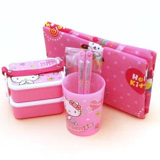 hello kitty picnic mat lunch box set bento set ebay. Black Bedroom Furniture Sets. Home Design Ideas