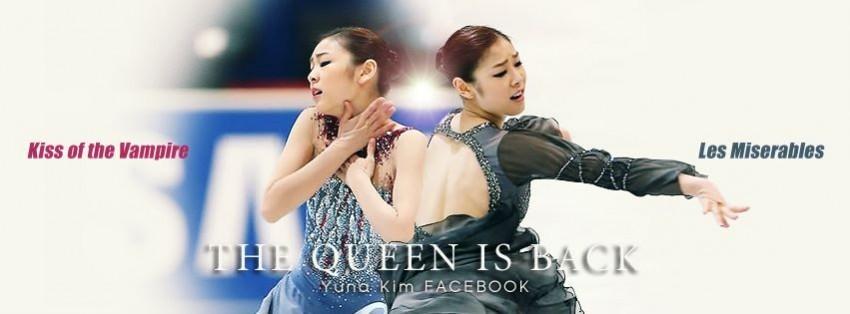 Yuna Kim Facebook reaches 3 Million likes!