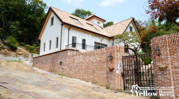 경기도 광주 지중해, 프로방스, 유럽풍 고급 전원주택 실외