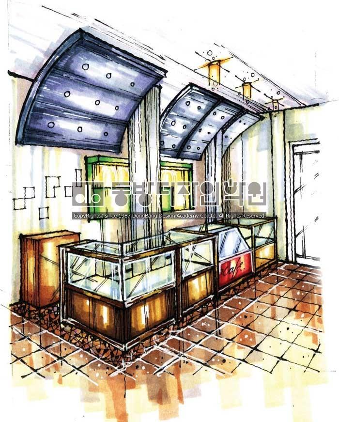 디자인스케치 아이디어스케치 2개월완성 실내건축조경제품가구 ...