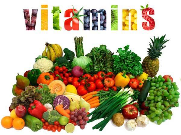 비타민 B와 C