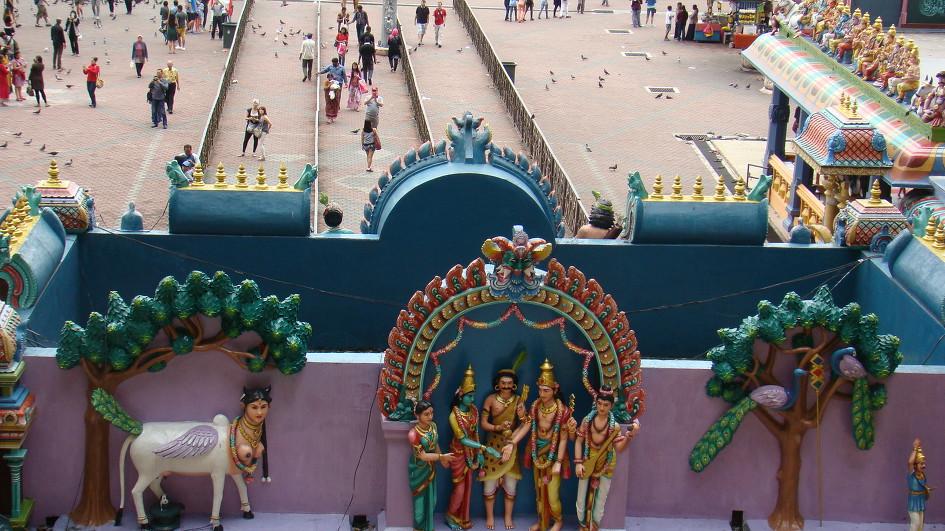 8.中に入ることができなかったスリマリアマンヒンズー教寺院
