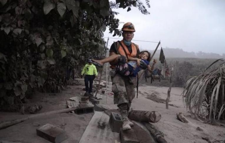 과테말라 화산 폭발 사망자 계속늘어
