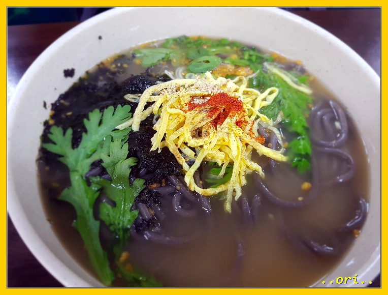 <인천 맛집> 4월 추억여행...? 중 저렴하고 맛난 [오목골]의 메밀우동 & 계란말이김밥