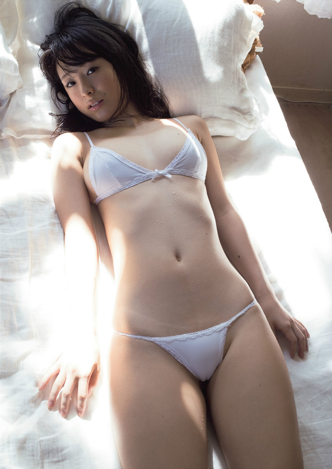 cool Japanese girl in sexy pose